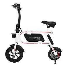Swagtron SwagCycle Envy Folding Electric Bike with Built-In Charger