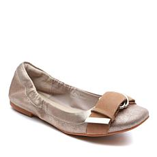 Tahari Andes Leather Ballet Flat