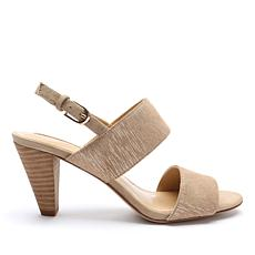 Tahari Easy Suede Slingback Dress Sandal