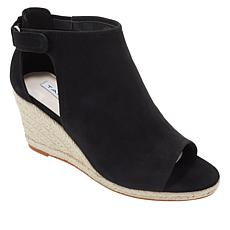 Tahari Jamie Lee Leather Espadrille Wedge Sandal