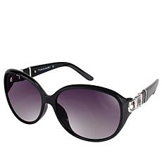 Tahari Oval Buckle Sunglasses