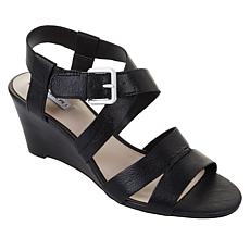 Tahari Violette Leather Wedge Sandal