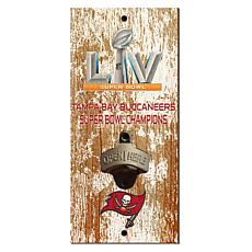 Tampa Bay Buccaneers Super Bowl Champs Bottle Opener