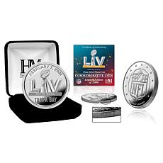Tampa Bay Super Bowl 55 Silver Mint Coin