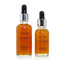 Tan-Luxe Face & Body Illuminating Self-Tan Drops - Medium/Dark