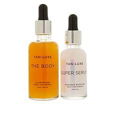 Tan-Luxe Light/Medium The Body & Super Serum Drops