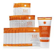 TanTowel® Classic 20-piece Kit with Body Glow Self-Tanning Cream