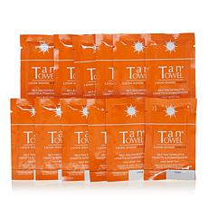 TanTowel® Half Body Dark Self Tan Towelette 12-pack