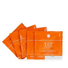 TanTowel® Total Body Dark Self Tan Towelette 5-pack