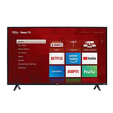 "TCL 3-Series 49"" Full HD Roku Smart TV w/HDMI Cable & 2-year warranty"