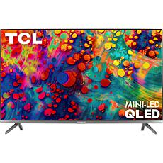 """TCL R635 55"""" 4K HDR Roku TV with 6ft HDMI Cable and Voucher"""