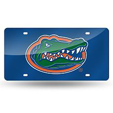 Team Colored Laser Tag License Plate - University of Fl