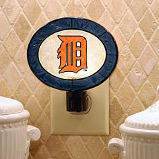 Team Glass Nightlight - Detroit Tigers