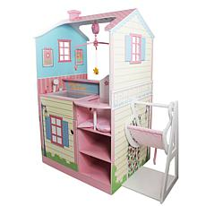 Teamson Kids Olivia's World Classic Doll Changing Station Dollhouse