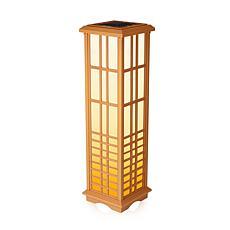 """Techko Solar Zen Lantern 33.4"""" Height"""