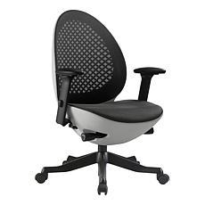 Techni Mobili Deco Lux Executive Office Chair
