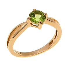 Technibond® 0.75ctw Peridot Birthstone Ring
