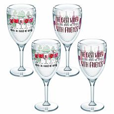 Tervis Winos Wine with Friends 4-pack 9 oz. Wine Glass