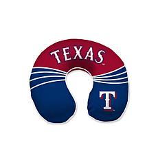 Texas Rangers Memory Foam U-Neck Travel Pillow