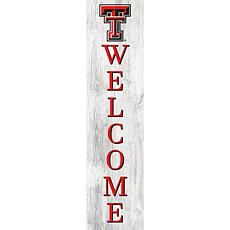 "Texas Tech University 48"" Welcome Leaner"