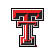 Texas Tech University Distressed Logo Cutout Sign