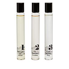 The Beauty Spy LAPCOS Perfume 3-piece Rollerball Set