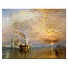 'The Fighting Temaraire' Turner Canvas Art Print