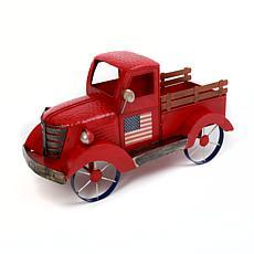 "The Gerson Company 19.2""L Metal Antique Americana Truck"