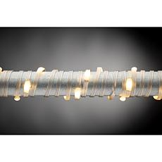 The Gerson Company 50-foot Warm White Micro LED, Silver String