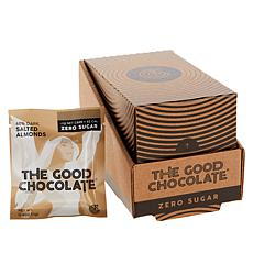 The Good Chocolate 14-piece .4 oz. Zero Sugar Chocolate Square