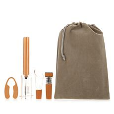 The Perfect Wine Opener 4-piece Set with Storage Bag