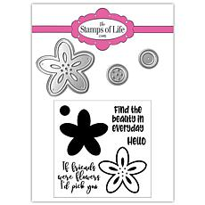The Stamps of Life 2020 Class Flower Stamps and Dies