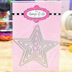 The Stamps of Life 4th of July Stitched Star Die Cuts