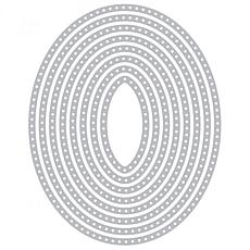 The Stamps of Life Dotted Ovals Shape Die Set