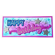 The Stamps of Life Happy Birthday Slimline Card Die Set