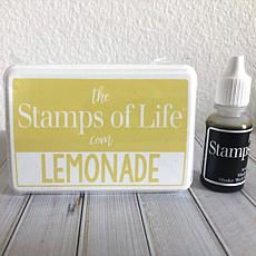 The Stamps of Life Ink Pad and Refill - Lemonade