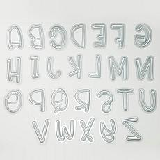 The Stamps of Life Punch Uppercase Alphabet Die Set
