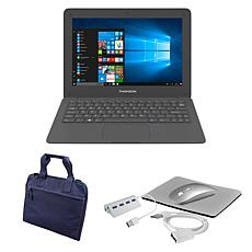 """Thomson Neo 11.6"""" Intel Atom Notebook w/Carry Case and Accessories"""