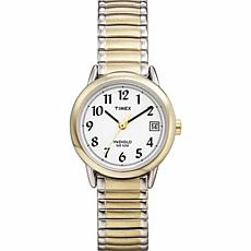 Timex Women's 2-Tone EZ-Reader Expansion Band Watch