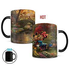 TK Disney Mickey and Minnie Central Park Heat-Sensitive Morphing Mug
