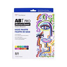 Tombow ABT PRO Set Art Markers 12-pack - Basic