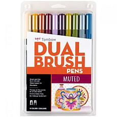 Tombow Dual Brush Pen Art Markers 10-pack