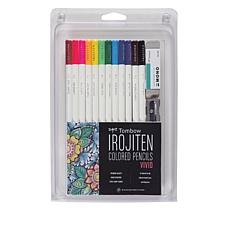 Tombow Vivid Adult Coloring Set 14-piece