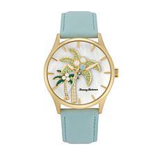 Tommy Bahama Women's Pearl Palm Tree Watch