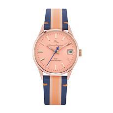 Tommy Bahama Women's Santa Monica Blue/Pink Leather Strap Watch