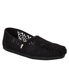 TOMS Floral Lace Classics Alpargata Slip-On