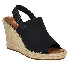 TOMS Monica Wedge Slingback Sandal