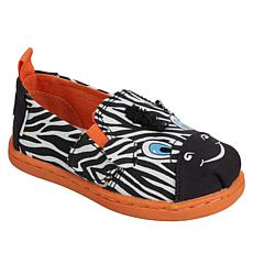 TOMS Tiny Alpargata Animal Faces Slip-On