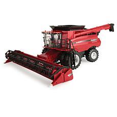 Tomy Big Farm Case IH 8240 Combine M2 1:16 With 3020 Grain Head