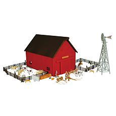 Tomy ERTL 1:64 Farm Country Western Barn Playset